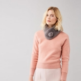 WIN a Faux Fur Pom Button Collar from Helen Moore