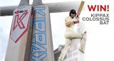 Win a Short-Handle 2018 Kippax Colossus Cricket Bat Worth £340