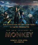 Win Tickets to the UK Premiere of the New Legends Of Monkey, London April 29th 2018