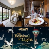 Win a family ticket to the Festival of Lights at Longleat and a Midweek break to Red Lion Freehouse