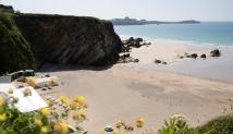 Win a luxury getaway at Lusty Glaze Beach, Cornwall