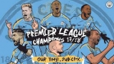 Win a Manchester City Champions 2018 Signed Shirt
