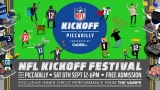 Free festival of NFL entertainment at Piccadilly, London – 8 September 2018