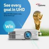 Win an Optoma World Cup 2018 UHD300X