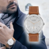 Win Vintage inspired men's limited edition watch By Oxygen worth £190