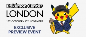 Win tickets to the Pokémon Center London exclusive preview event