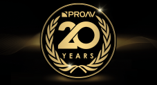 Proav 20 Years prize draw