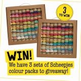 Win a Set of Scheepjes New Colour Packs