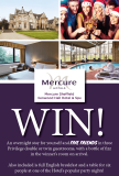 Win a festive party break for five at Mercure Sheffield Kenwood Hall Hotel & Spa