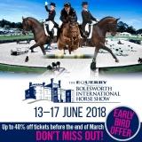 Win Tickets to The Equerry Bolesworth International Horse Show