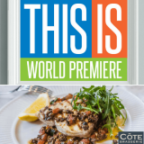 Win a meal for two at Côte Brasserie and two tickets to see World Premiere play THIS IS