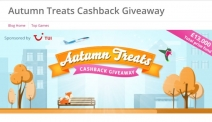 TopCashBack Autumn Treats: £13,000 up for grabs – daily game