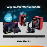 Win an AVerMedia bundle worth over £500