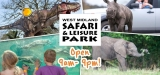 Win Family Ticket To West Midland Safari Park, Worcestershire