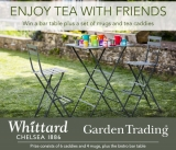Win Whittard of Chelsea Bar Table, A Set Of Mugs & Tea Caddies