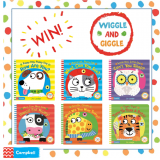 Win Wiggle & Giggle Board Books