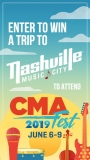 Win a trip to Nashville Music City CMA Fest