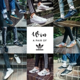 Win a pair of Adidas trainers