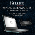 Win an Alienware laptop and Linksys router with Hexus