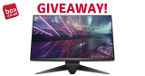 Win the Alienware AW2518H Gaming Monitor