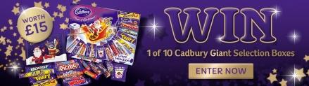Win a Cadbury giant selection box