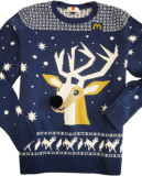 Win a McDonald's Christmas  jumper