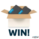 Win a Crucial 480GB BX500 SSD