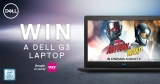 Win a Dell G3 gaming laptop