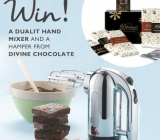 Win a Dualit Hand Mixer, Coffee Bags and Divine Chocolate Hamper