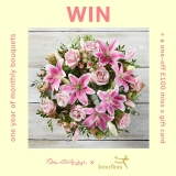 Win flowers for a year and £100 Miss Selfridge gift card