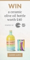 Win a ceramic bottle of Frantoio Muraglia extra virgin olive oil