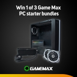 Win a Game Max PC starter bundle