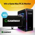 Win a Game Max PC & Monitor