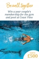 Win a gym & pool membership at Coast View, Shaldon