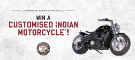 Win your own customised Indian Motorcycle