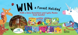 Win Julia Donaldson and Lydia Monks childrens books