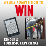 Win a Kindle & Forensic Experience