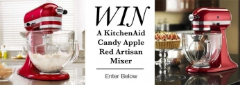 Win a KitchenAid artisan mixer