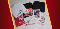 Win a Klopp signed chef set, Gomez signed boarding pass, souvenir merchandise and MORE