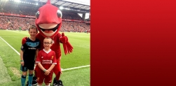 Win a place for your child to be a Liverpool FC Junior Matchday Ambassador