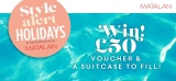 Win £50 Matalan Voucher & A Suitcase – Weekly