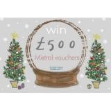 Win £500 Mistral vouchers