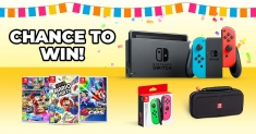 Win an ultimate Nintendo Switch party pack