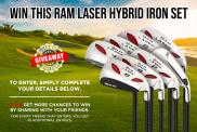 Win a Ram Golf Laser Hybrid Irons Set