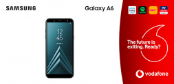 Win a Samsung A6 and an entertainment package