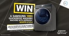 Win a Samsung washing machine worth £1214