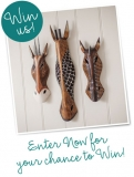 Win three Savanna Animal Masks