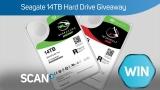 Win a Seagate 14Tb Hard Drive