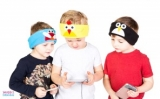 Win Snuggly Rascals Headband Headphones