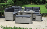Win The Barcelona Lounge Rattan Set with Cushions